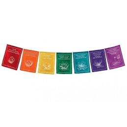 Drapeaux tibétains Paroles de bon augure DRAT8