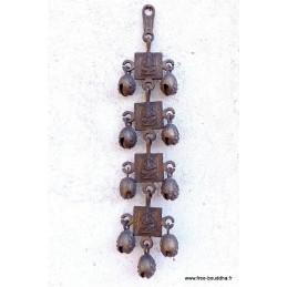 Rares cloches tibétaines Dieu Ganesh 40 cm RCT1