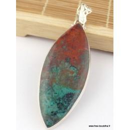 Pendentif Cuprite du Sonora forme marquise Pendentifs pierres naturelles KB3.2