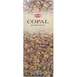 Encens indien Copal boîte hexagonale COPA1
