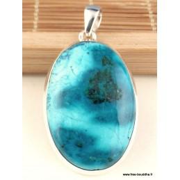 Pendentif Shattuckite forme ovale exceptionnelle Pendentifs pierres naturelles TUV19.4