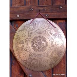 Gong tibétain de méditation 33,5 cm GONG1