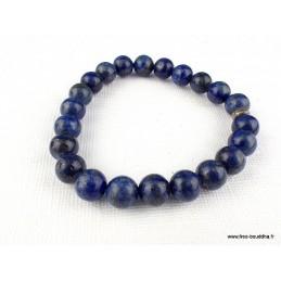 Bracelet mala en Lapis lazuli Bracelets tibétains bouddhistes BM34.1