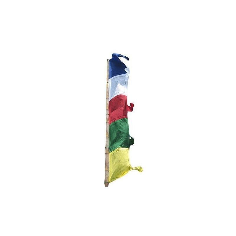 Drapeau tibétain vertical 4.8 mètres DV48M