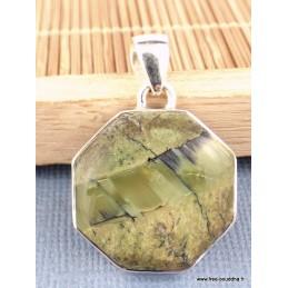 Pendentif Opale Impériale hexagonal Pendentifs pierres naturelles PAC1.1