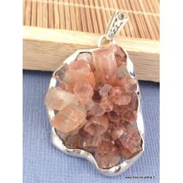 Pendentif Cristal d'Aragonite étoilée asymétrique Pendentifs pierres naturelles PAC6.1