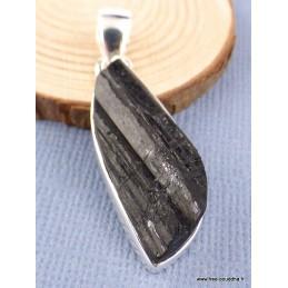 Pendentif Tourmaline noire forme larme Pendentifs pierres naturelles PAC12.2