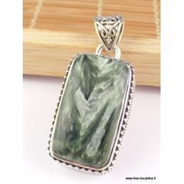 Pendentif vintage Seraphinite Pendentifs pierres naturelles PAC18