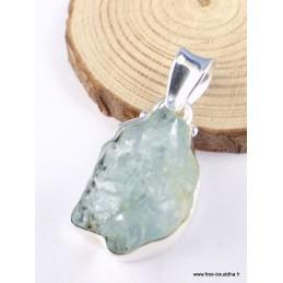 Pendentif Aigue-marine brute asymétrique Pendentifs pierres naturelles PAC23