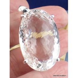 Gros pendentif Cristal de Roche (exceptionnel) Pendentifs pierres naturelles PAC51