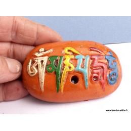 Porte encens tibétain Mantra de Chenrezi PET5
