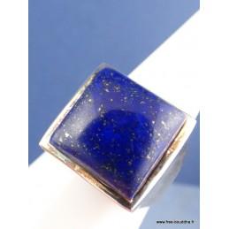 Chevalière Homme Lapis Lazuli Bagues pierres naturelles BEE59