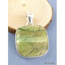 Pendentif Opale Impériale carré Pendentifs pierres naturelles PAC76