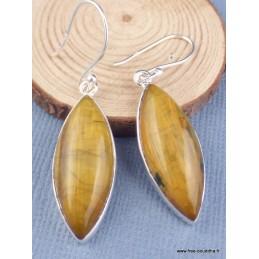 Boucles d'oreilles en Nellite forme marquise Bijoux en Nellite PAC86