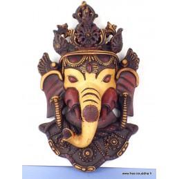 Statuette masque mural Ganesh style antique Statuettes Bouddhistes GANESH2