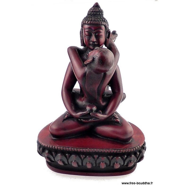Statuette bouddhiste Shakti (Samantabhadra) 13 cm Objets rituels bouddhistes SHAKTI2.2