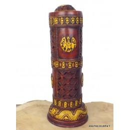 Porte encens tibétain pour encens indiens BBRE6