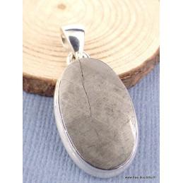 Pendentif Météorite Muoniolalusta oval Pendentifs pierres naturelles XV44
