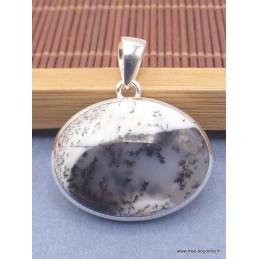 Pendentif Merlinite oval horizontal Pendentifs pierres naturelles PAC7.4