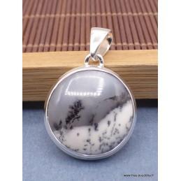 Petit pendentif Merlinite rond Pendentifs pierres naturelles PAC7.5
