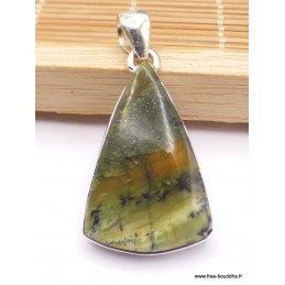 Pendentif Opale Impériale triangulaire Pendentifs pierres naturelles PAC1.2
