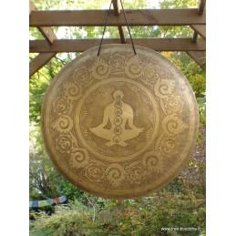Gong tibétain de temple bouddhiste 53 cm 4.6 kg GONG2