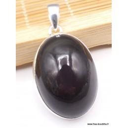 Pendentif en Obsidienne Oeil Céleste oval Pendentifs pierres naturelles PAC11.2