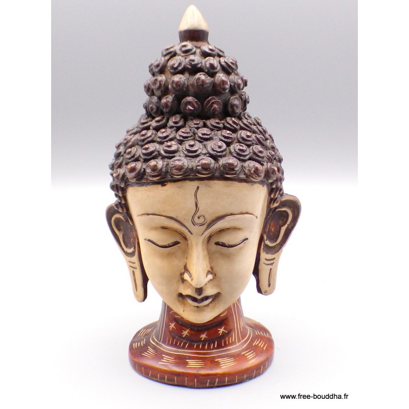 Statuette Tête de Tara en résine ref STV2.1