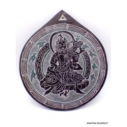 Sculpture bouddhiste sur ardoise Tara SCAR5