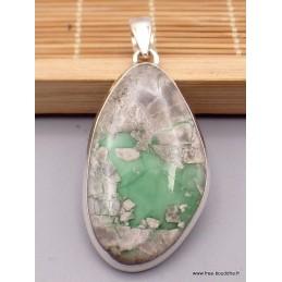 Gros pendentif en Variscite australienne Pendentifs pierres naturelles TUV14.2