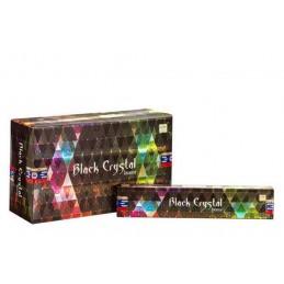 Encens indien Black Crystal 15 gr ZD525