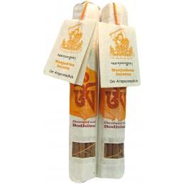 Encens tibétain de qualité supérieure MANJUSHRI Encens tibétains, accessoires EQSMAN
