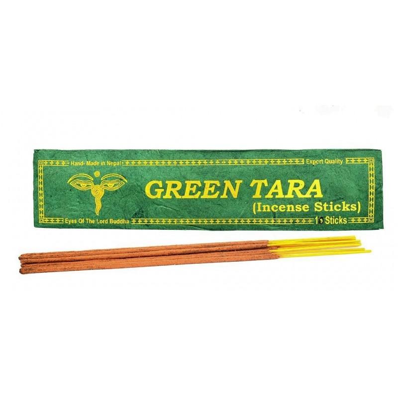 Encens tibétain TARA VERTE qualité supérieure Encens tibétains, accessoires ETTAR