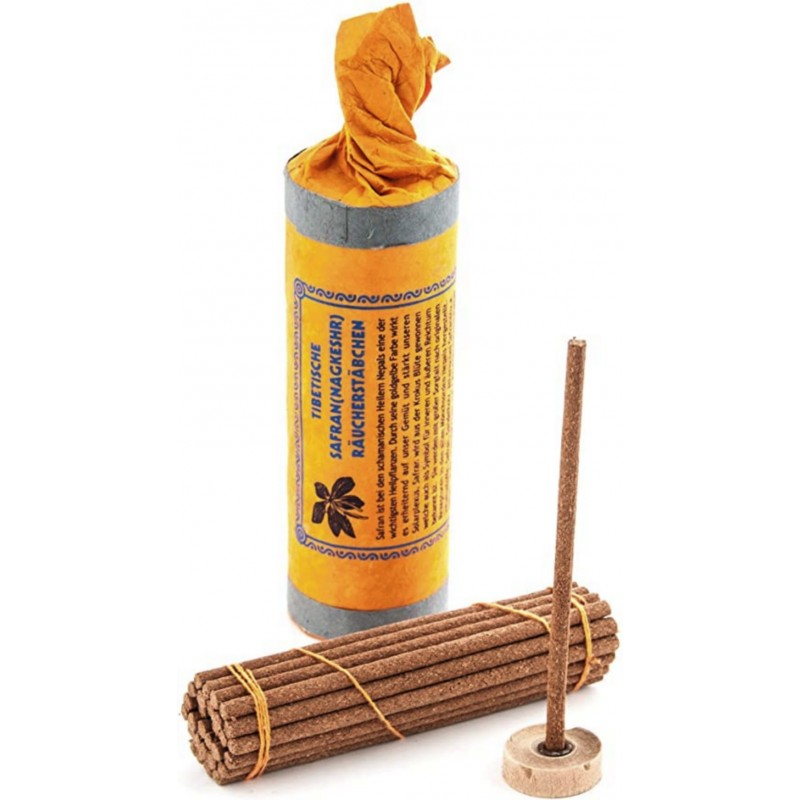 Encens tibétain SAFRAN boîte rigide SAF1