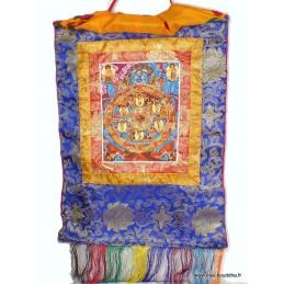 Tangka tibétain Mahakala protecteur du Dharma TANMH1