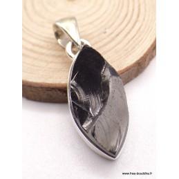 Pendentif Shungite forme marquise Pendentifs pierres naturelles PAC78.4