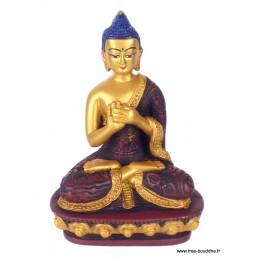 Statuette Bouddha position du lotus BUDLOT