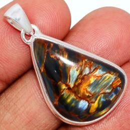 Pendentif Pietersite qualité AAA forme goutte Pendentifs pierres naturelles PU17.2