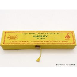 Encens tibétain Energy boîte cartonnée ENSEN1