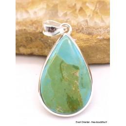 Turquoise mohave pendentif rond Bijoux en Turquoise XV4.9
