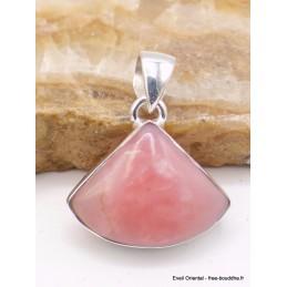 Pendentif en Opale Rose australienne trapèze Pendentifs pierres naturelles XV31.4
