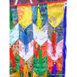 Tenture tibétaine Kaden plate 100 cm Tentures tibétaines Bouddha KAD100