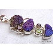 Bijoux en pierres druzy
