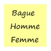 Bagues HOMMES FEMMES