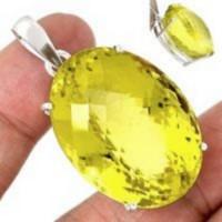 Bijoux en Quartz Lemon