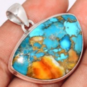 Bijoux en Turquoise Spiny Oyster