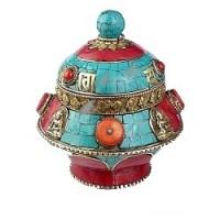 Boîte à Bijoux tibétaine