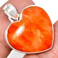 Bijoux en Calcite Orange