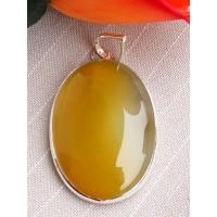 Bijoux en Calcédoine jaune