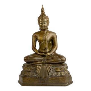 statue-bouddha-assis-semi-lotus